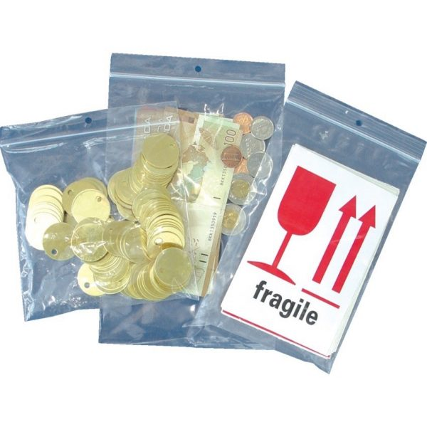 """Reclosable Poly Bags 4"""" x 6"""""""