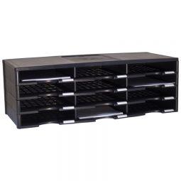 Storex Literature Organizer 12 Compartments