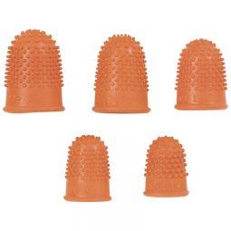 Westcott Rubber Finger Stalls Non-Ventilated Thumb (3)