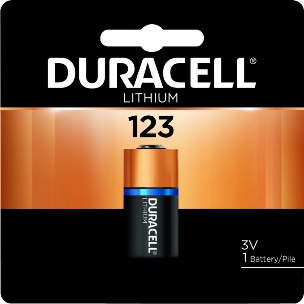 """Duracell® Ultra Photo """"123"""" Lithium Battery"""