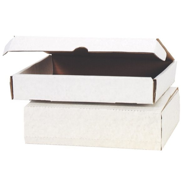 WhiteCorrugated Shipping Boxes