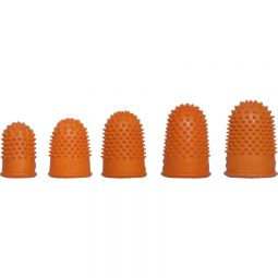 Westcott Rubber Finger Stalls Non-Ventilated Assorted Sizes
