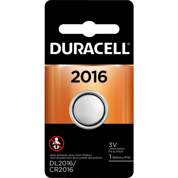 """Duracell® Lithium """"2016"""" Battery"""
