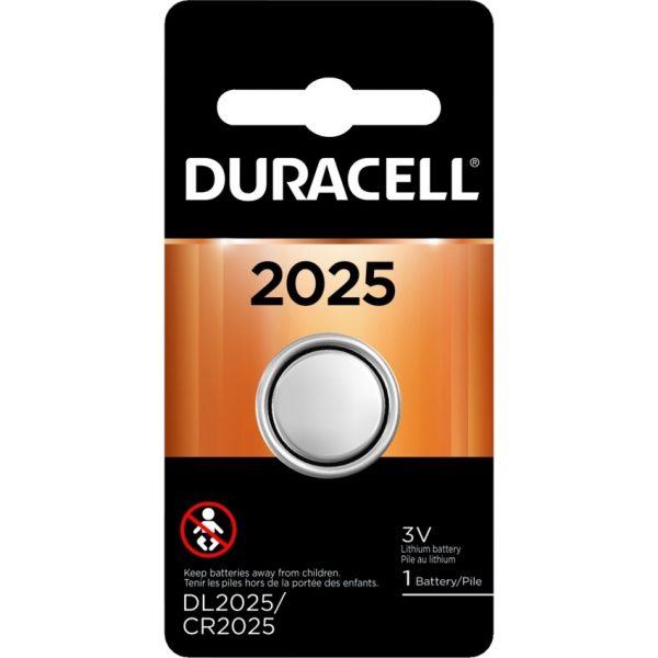 """Duracell® Lithium """"2025"""" Battery"""