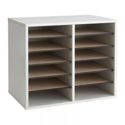 Safco adjustable wood Literature Holder