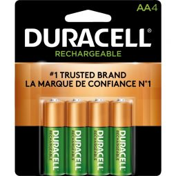 """Duracell® Rechargeable Stay-Charged Battery """"AA"""""""