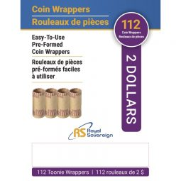 Royal Sovereign™ Preformed Coin Wrappers