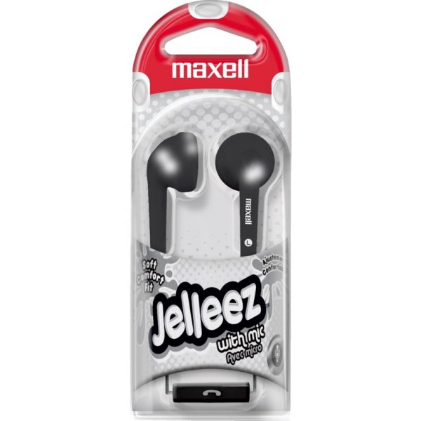 Maxell Jelleez Stereo Ear Buds with Mic
