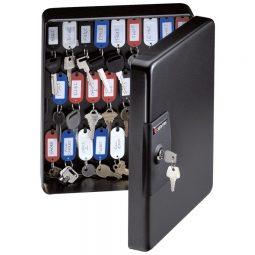 Sentry Key Box Cabinet Holds 50 Keys Black