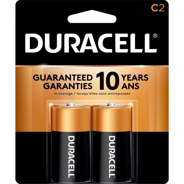 "Duracell® Coppertop Battery ""C"""