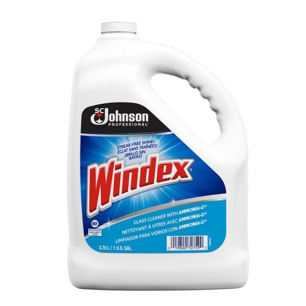 Windex Glass Cleaning