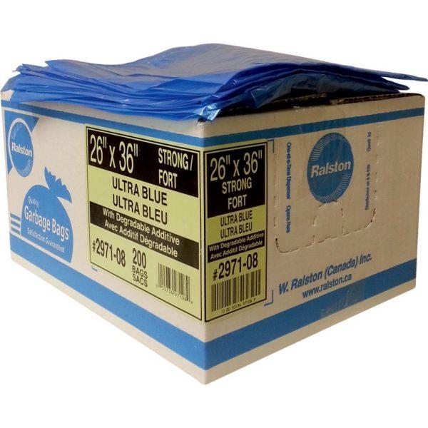"""Garbage Bag 26""""x 36"""" Biodegradable"""