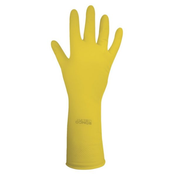 Gloves Latex Med Ylw 12 pairs/pkg
