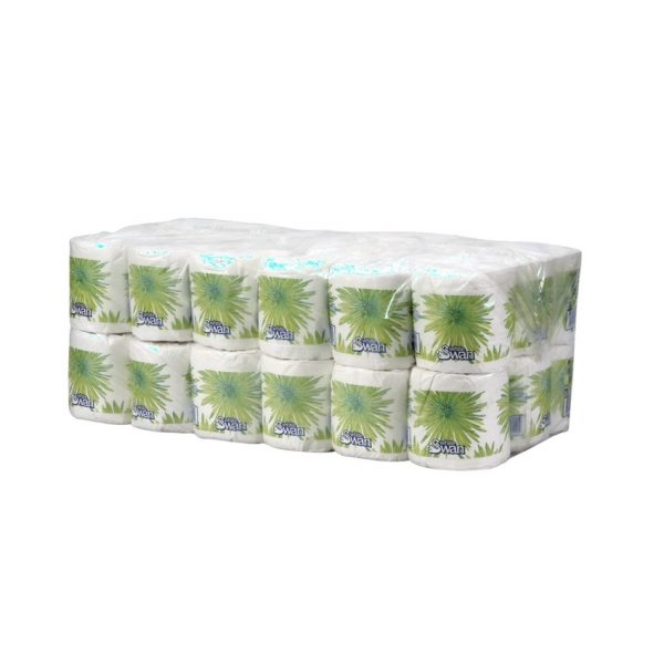 White Swan® 2-Ply Bathroom Tissue Poly Pack