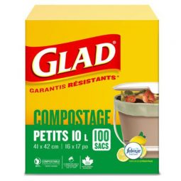 Glad® Compostable Bags with Lemon Scent