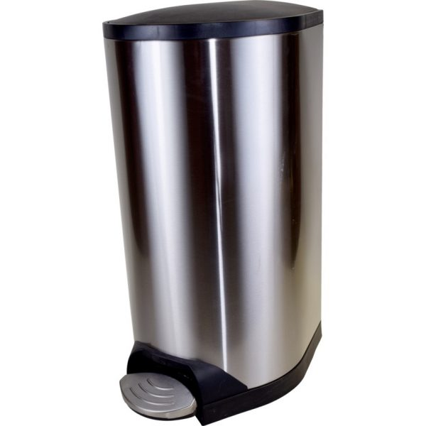 Globe™ Step-On Waste Container with Soft Close Lid