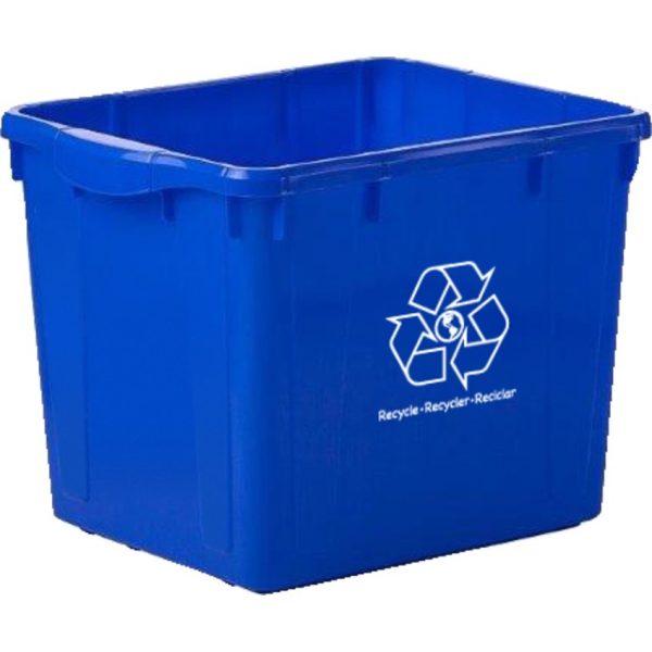 Globe™ Curbside Recycling Bin