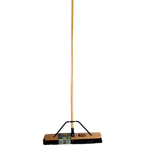 Globe™ The Beast™ Assembled Wood Block Push Brooms