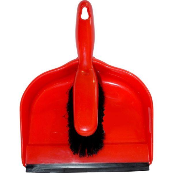 Globe™ Clip-On Dustpan and Brush Set