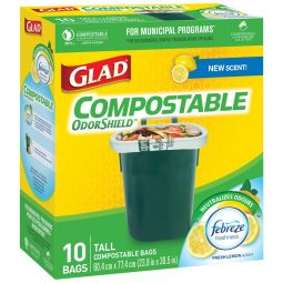 Garbage Bag Comp Tall 10/box