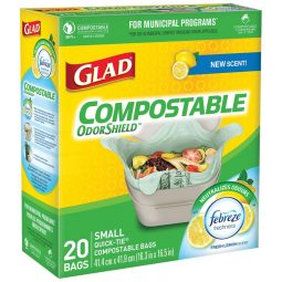 Small garbage Bag Compostable. 20/box.