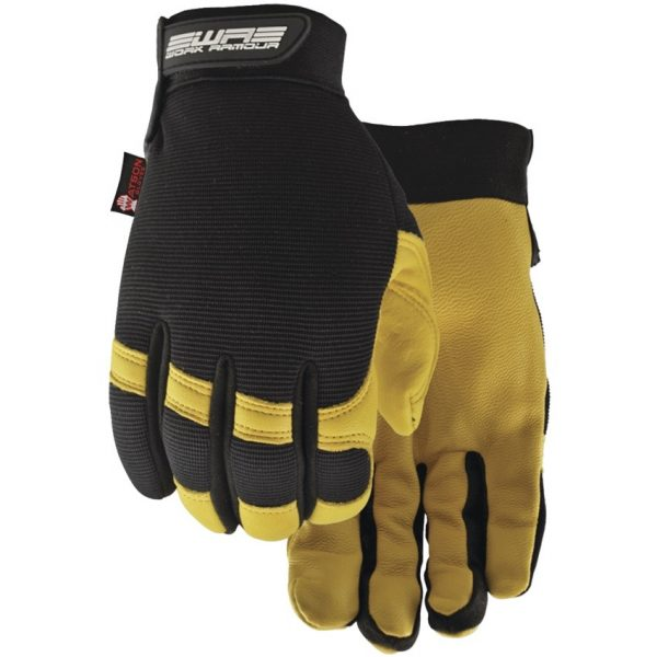 Flextime Dryhide™ Water Resistant Leather Gloves. X-Large.
