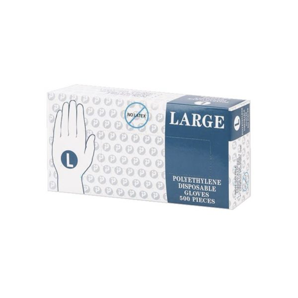 Ralston® Disposable Poly Gloves Large