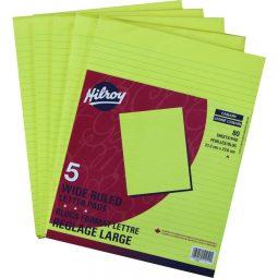 "Fig Pad 8-1/2"" X 11"" Yellow 5/16"