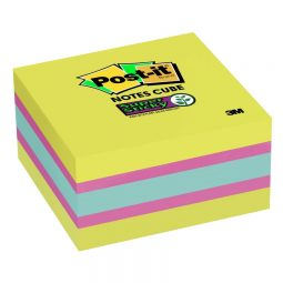 Post-it® Super Sticky Notes Cube