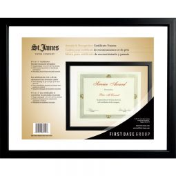 St. James Paper Company Awards and Recognition Floating Frame
