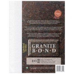 St. James Paper Company Granite Bond Paper Letter