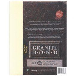St. James Paper Company Granite Bond Paper Letter Ivory