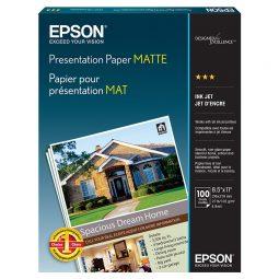 Epson Presentation Paper Paper 27 pounds Letter Pack ok 100