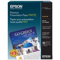 Epson Premium Presentation Paper 45 pounds Letter
