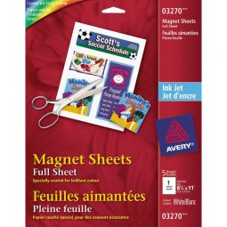 Avery Personal Creations Magnet Sheets Inkjet 8½' X 11'