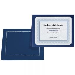 St. James Paper Company Certificate Holders Classic Navy