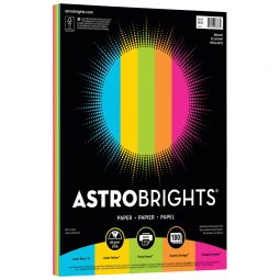 Paper Coloured Assorted. 100/package. Astro