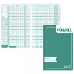 Dean Payroll Book 24 Employees. English