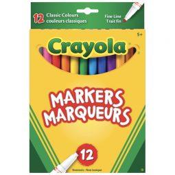 Crayola Markers Fine Line Original Colours