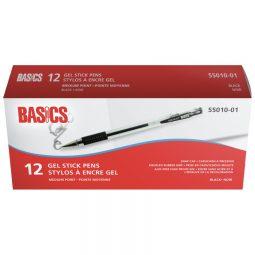 Basics Gel Stick Pens 0.7mm