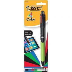 Bic 4-Color Stylus  Pen