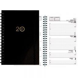 Basics® 2021 Weekly Diaries Wire Bound