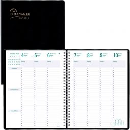 Blueline® Timanager® Weekly Planner 7 Days