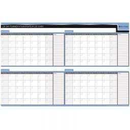 """Day-Timer Double-Sided Flexible Planner 90/120 Day 24 x36"""" Bilingual"""