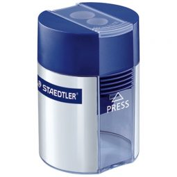 Staedtler Pencil Sharpener With Container Double Holes