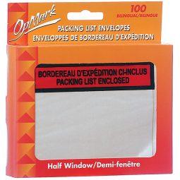 "Geocan Packing Slip Envelopes 4-1/2"" X 5-1/2"""