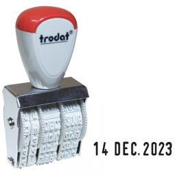 Trodat 1010 Series Manual Dater 4 Mm 5/32
