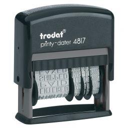 Trodat Printy 4817 Dial-A-Phrase Dater English