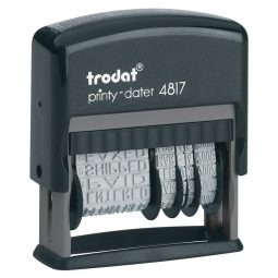 Trodat Printy 4817 Dial-A-Phrase Dater French