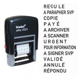 Trodat Printy 4822 Phrase Stamp French
